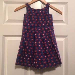 Janie and Jack pleated little girl's dress - 2T